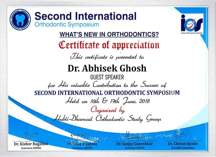 ortho abhishek ghosh