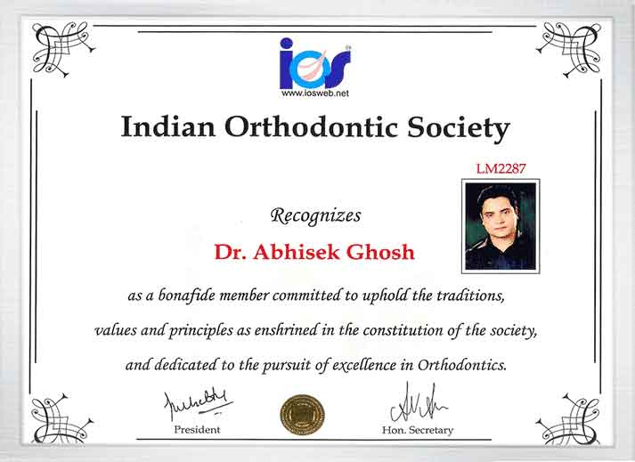 ortho certtificate